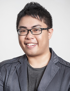 Ronald Lye, Founder and Director. Singapore copywriter